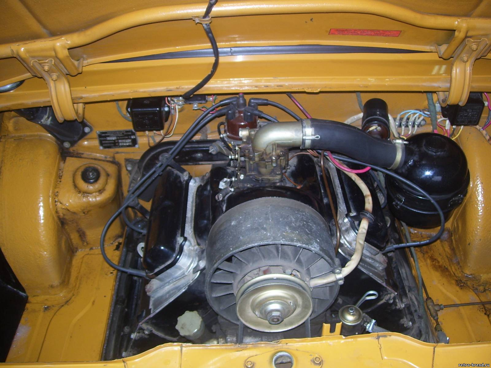 Как сделать с двигателя от заз 968
