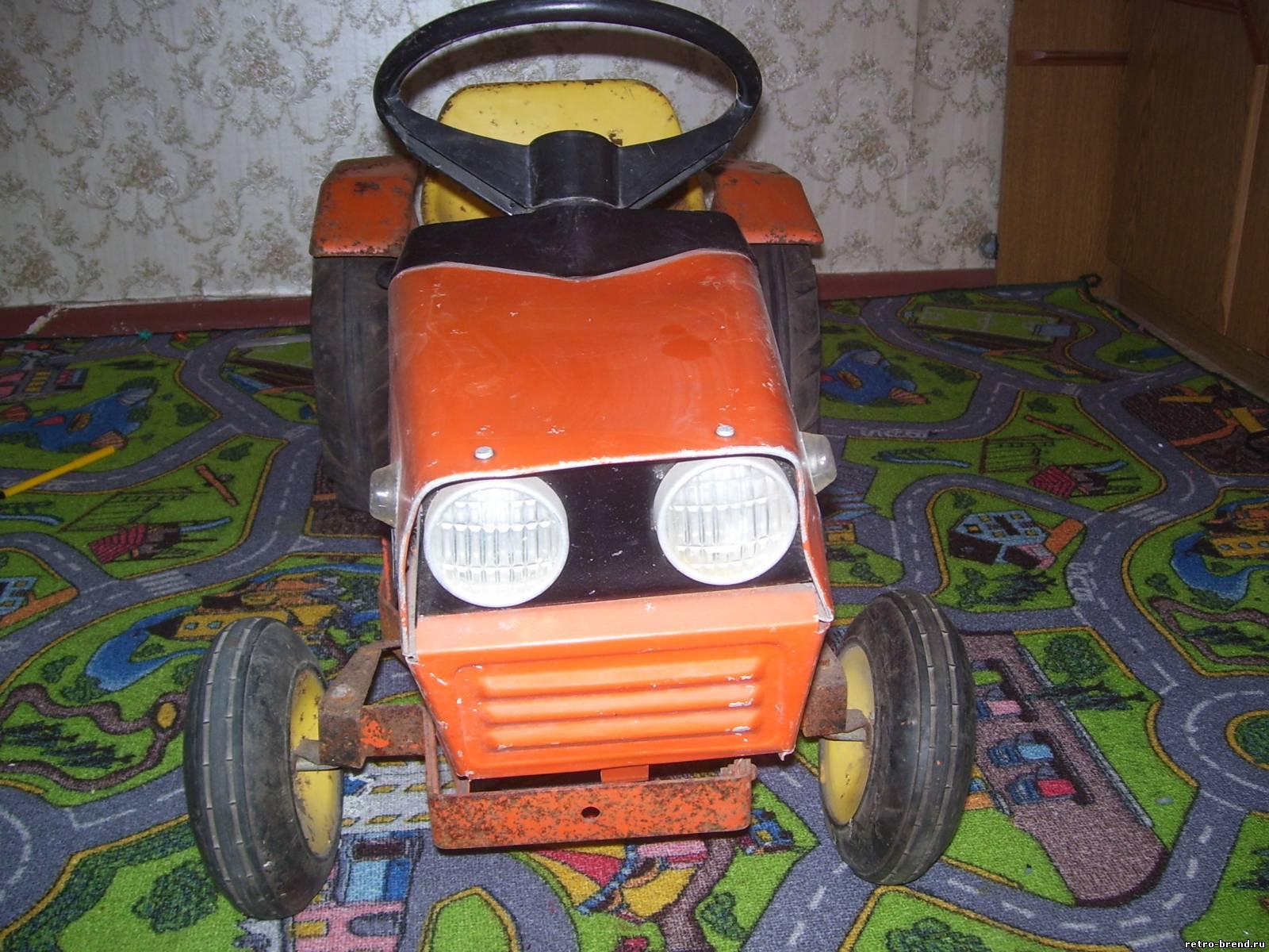 Детский трактор с педалями своими руками 80