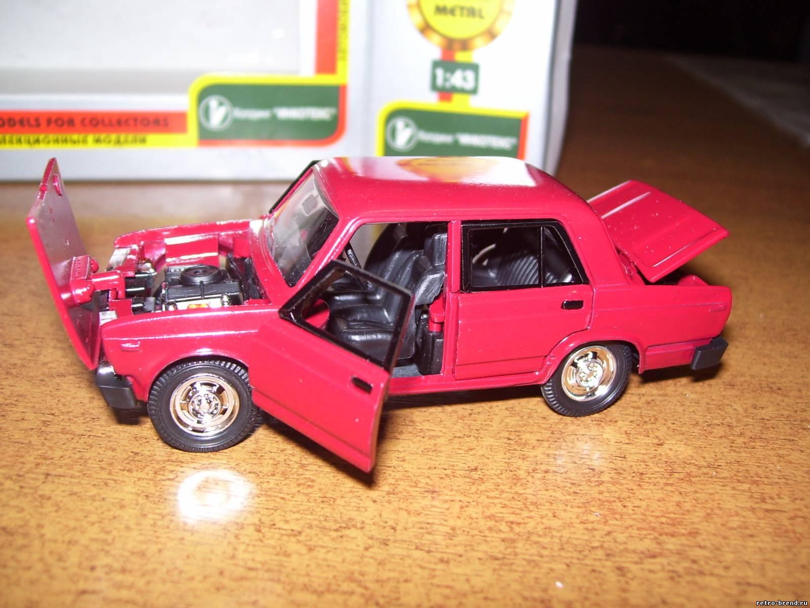 Модель автомобиля своими руками ваз